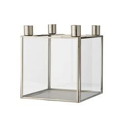 Świecznik srebrny adwentowy bloomingville