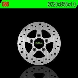 Ng086 tarcza hamulcowa kymco 50125150250 220x58x4 5x10,5mm