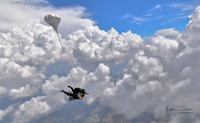 Skok ze spadochronem dla dwojga - gliwice