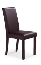 Krzesło do jadalni nikko ciemny orzech