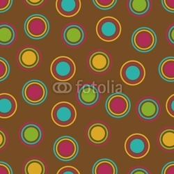 Obraz na płótnie canvas trzyczęściowy tryptyk tło pogrubione kropki