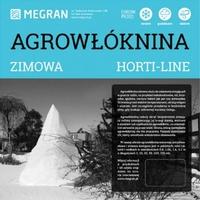 Agrowłóknina zimowa horti-line megran - 1,6 x 10 m