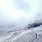 Fototapeta mgła na stoku fp 1597