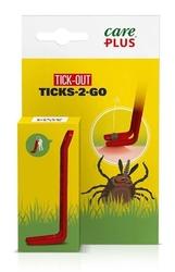 Przyrząd do wyciągania kleszczy care plus - ticks-2-go