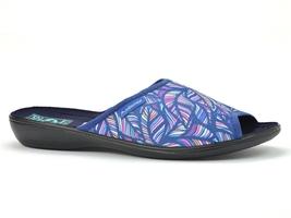 Pantofle  adanex 24615 niebieskie