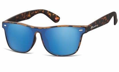 Okulary pełne lustro  nerdy montana lustrzane ms47d