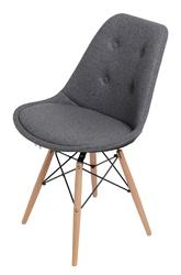Tapicerowane krzesło norden dsw