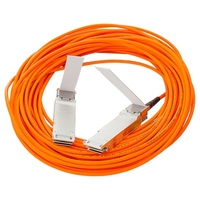 Aktywny kabel optyczny hp bladesystem klasy c 40g qsfp+ do qsfp+ o długości 15 m