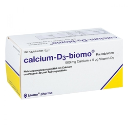 Calcium d3 biomo tabletki do żucia 500+d