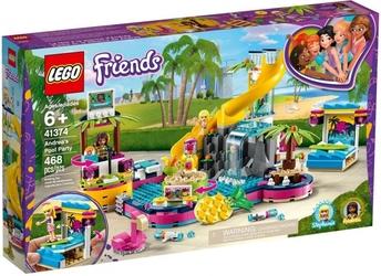 Klocki lego friends 41374 impreza andrei na basenie