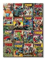 Marvel thor covers - obraz na płótnie