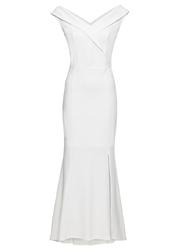 Sukienka wieczorowa bonprix biały