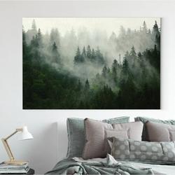 Obraz na płótnie - forest nature , wymiary - 70cm x 100cm