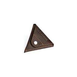 Skórzana bilonówka coin wallet brødrene ciemny brąz cw01