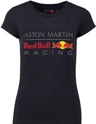 Koszulka damska red bull racing granatowa - granatowy