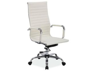Fotel obrotowy q-040 beżowy