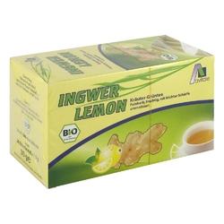 Herbata ziołowa z imbirem i miętą, torebki