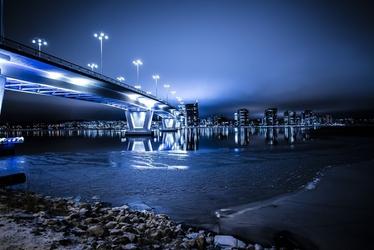 Fototapeta na ścianę industrialny most fp 3254