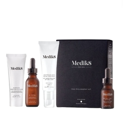 medik8 csa philosophy kit for men kit zestaw do kompleksowej kuracji anti aging z witaminą a i c + uvauvb