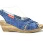 Sandały  lanqier 40c226  jeans