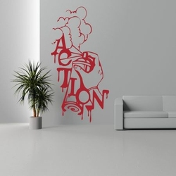 Szablon malarski graffiti gr26