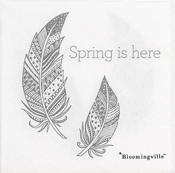 Serwetki Spring is here 20 szt.