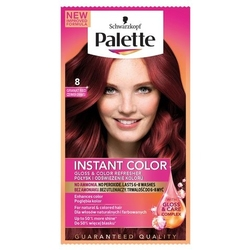 Palette instant color, szampon koloryzujący w saszetce, 08 czerwień granatu
