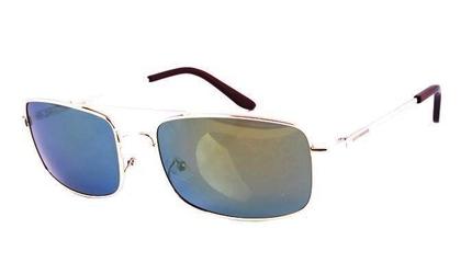 Męskie okulary polaryzacyjne metalowe lustra 0161