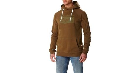 Bluza onitsuka tiger hoodie 123496-0453 l oliwkowy
