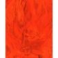 Dekoracyjne piórka puchate 3 g - pomarańczowe - pom