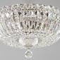 Lampa sufitowa z kryształów na metalowej podstawie basfor maytoni classic dia100-cl-03-n