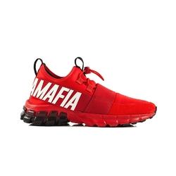 Buty treningowe damskie labellamafia sneakers red - czerwony