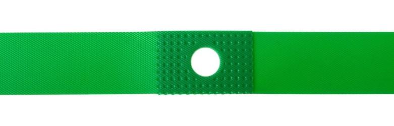 Opaska pvc na obręcz 28-29 - 20x622mm av zielona wzmocniona
