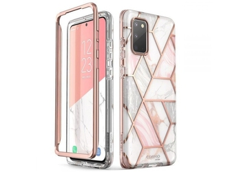 Etui supcase cosmo do samsung galaxy s20 marble pink