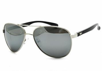 Pilotki polaryzacyjne okulary aviator lustrzanki pol-11a