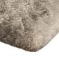 Shaggy dywanik łazienkowy pluszowy wysoki 60x90 beżowy