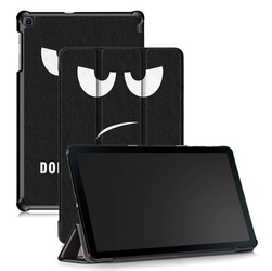 Etui alogy book cover do galaxy tab a 10.1 2019 dont touch my pad + szkło - dont touch my pad