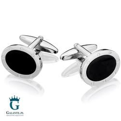 Spinki do mankietów black onyx sd-0204