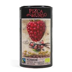 Pizca del mundo | komoe czekolada do picia o smaku malinowym 250g | organic - fairtrade