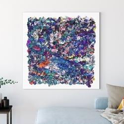 Obraz na płótnie - artistic ecstasy , wymiary - 50cm x 50cm