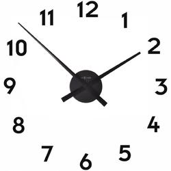 Zegar ścienny bez tarczy mini hands nextime czarny 3074 zw