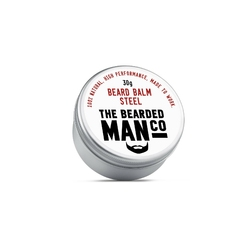 Bearded man co - balsam do brody stal - steel 30g