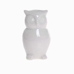 Ceramiczna sowa 7 cm