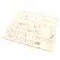 Zestaw napisów - idealny do cardmakingu 13,8x13,8