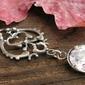 Rivoiri - srebrny wisiorek z kryształem swarovskiego