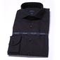 Elegancka czarna koszula męska taliowana slim fit 37