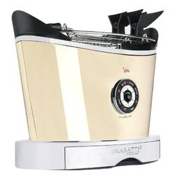 Casa bugatti - toster volo - kremowy - kremowy