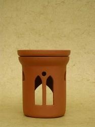 Podgrzewacz do olejków - kominek - wzór gotyk