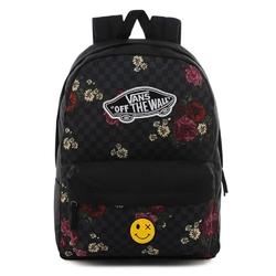 Plecak do szkoły vans realm botanical check - vn0a3ui6uwx - custom smile