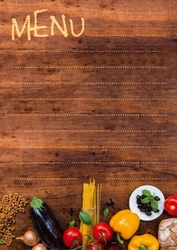 Tablica magnetyczna kredowa menu 32